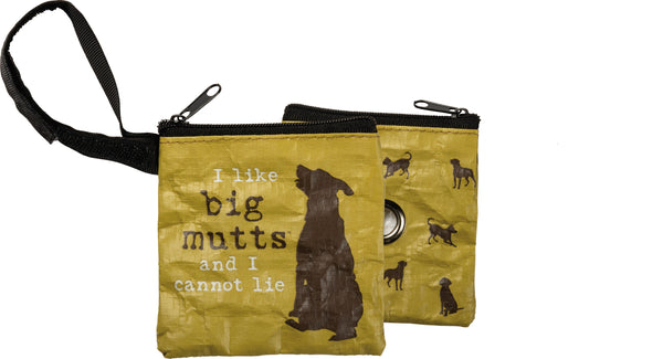 Primitives by Kathy Pet Waste Bag Pouch - I Like Big Mutts