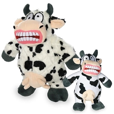Mighty Angry Animal Series Cow Dog Toy