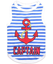 Parisian Pet® Captain Dog T-Shirt