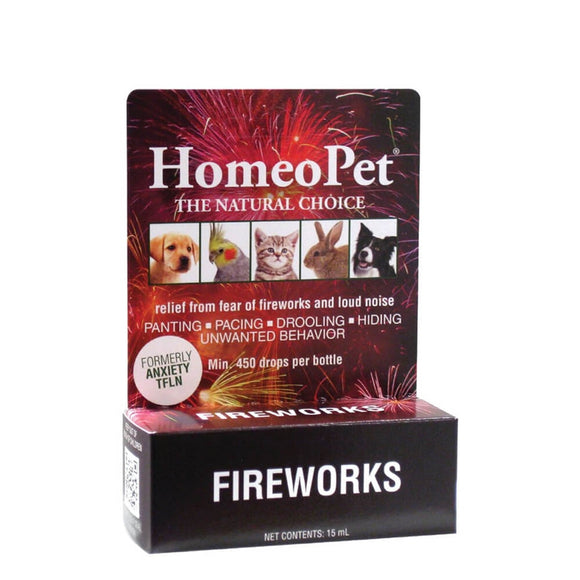 Homeopet Fireworks 15ml Dog & Cat