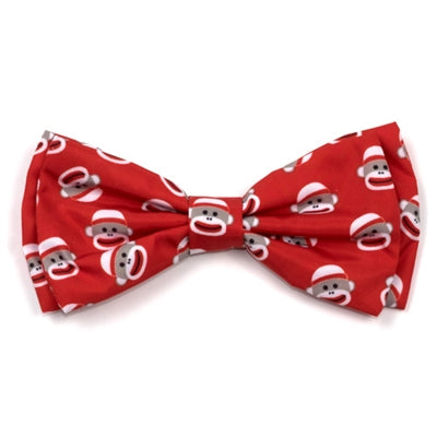 The Worthy Dog Sock Monkey Bow Tie