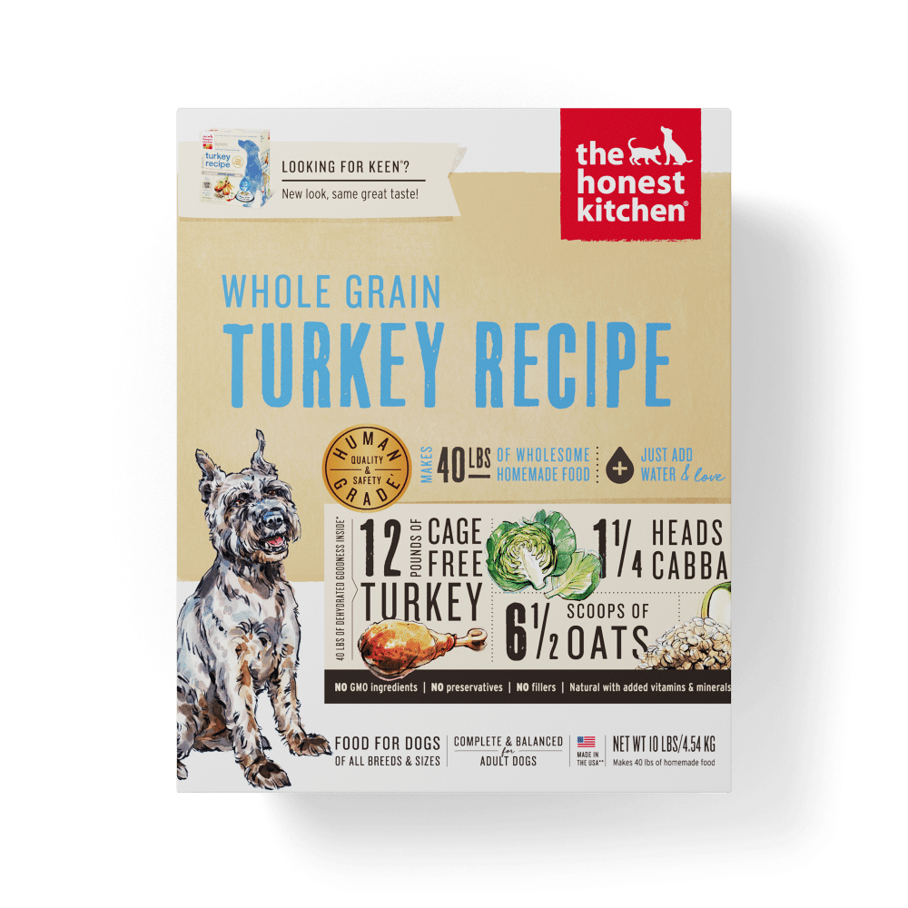 Honest Kitchen Whole Grain Turkey Dehydrated Dog Food