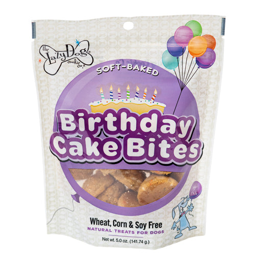 Lazy Dog Cookie Co. Birthday Cake Bites Dog Treat