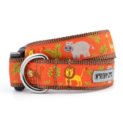 The Worthy Dog Zoofari Collar & Lead Collection Small - Paw Naturals