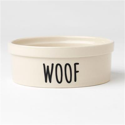 PetRageous Designs! Woof Urban Pet Bowl, 2 cups