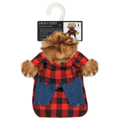 Zack & Zoey Werewolf Pet Costume Large/X-Large - Paw Naturals