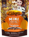 Zuke's Mini Naturals Pumpkins Turkey & Pumpkin Recipe Dog Treats 5oz bag