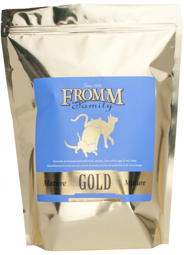 Fromm Gold Mature Senior Dry Cat Food