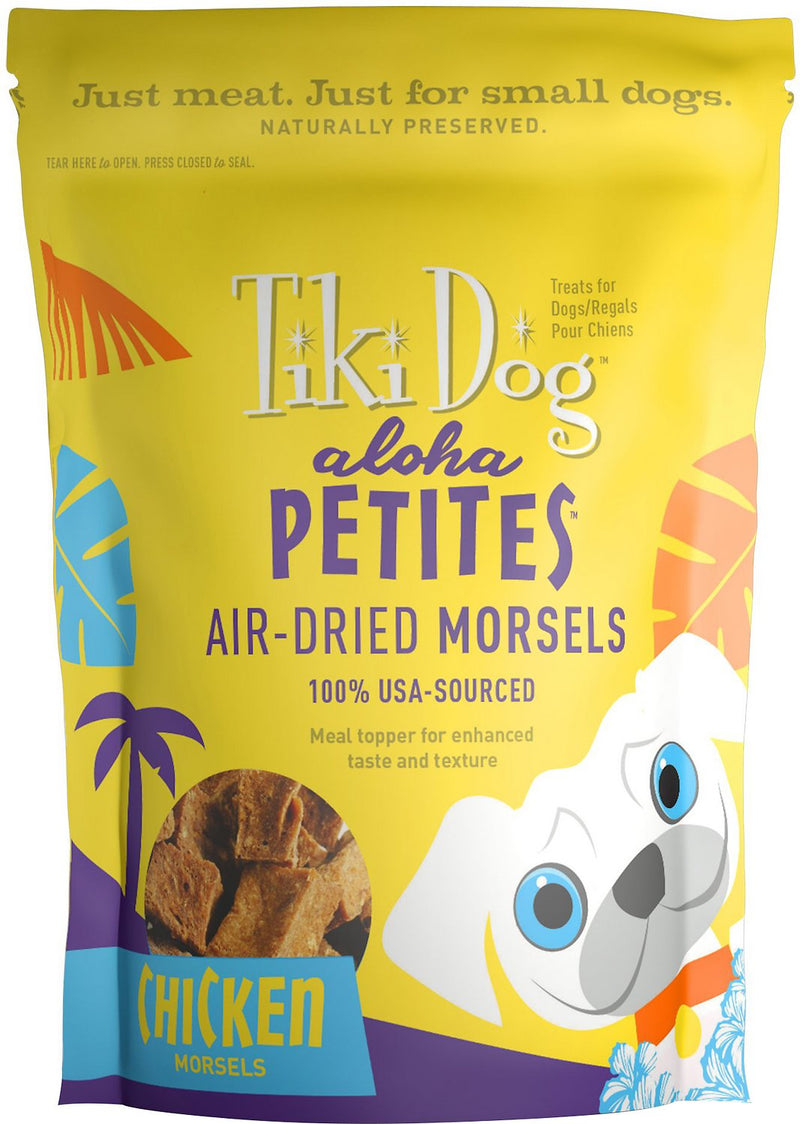 Tiki Pet Aloha Petites Air-Dried Chicken Morsel Treat & Meal Topper 5oz
