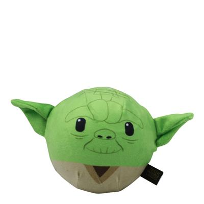 Star Wars Plush Yoda Ball Body Dog Toy | Soft Star Wars Squeaky Dog Toy - Paw Naturals