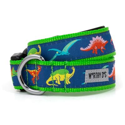 The Worthy Dog Dino Collar & Lead Collection - Paw Naturals