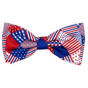 The Worthy Dog Americana Bow Tie