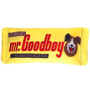 Lulubelles Power Plush Mr Goodboy Dog Toy