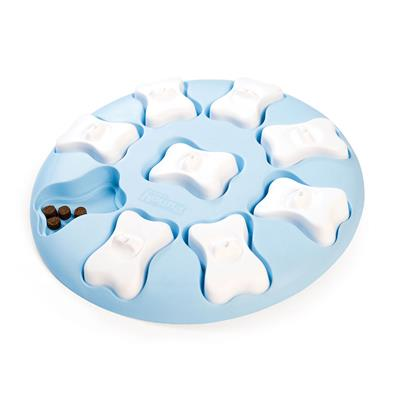 Nina Ottosson Puppy Smart Interactive Treat Puzzle Dog Toy Blue - Paw Naturals