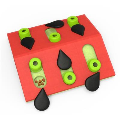 Nina Ottosson Melon Madness Puzzle & Play Cat Toy - Paw Naturals