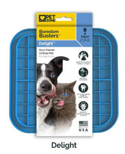 Pet Zone Boredom Busterz Blue Delight Slow Feeder Licking Mat