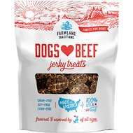 Farmland Traditions USA Dogs Love Beef Jerky Dog Treats 5oz