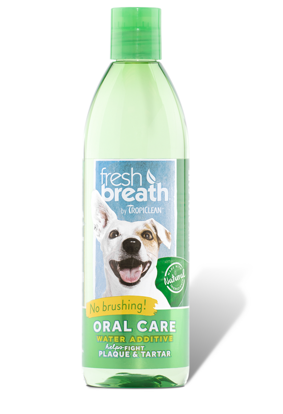 Tropiclean Fresh Breath Water Additive Dog 16oz