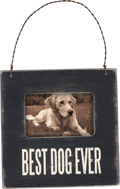 Primitives By Kathy Mini Frame - Best Dog - Paw Naturals