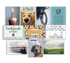 Dog Speak U Feed Me Pet Sitter Thank You Card - Paw Naturals