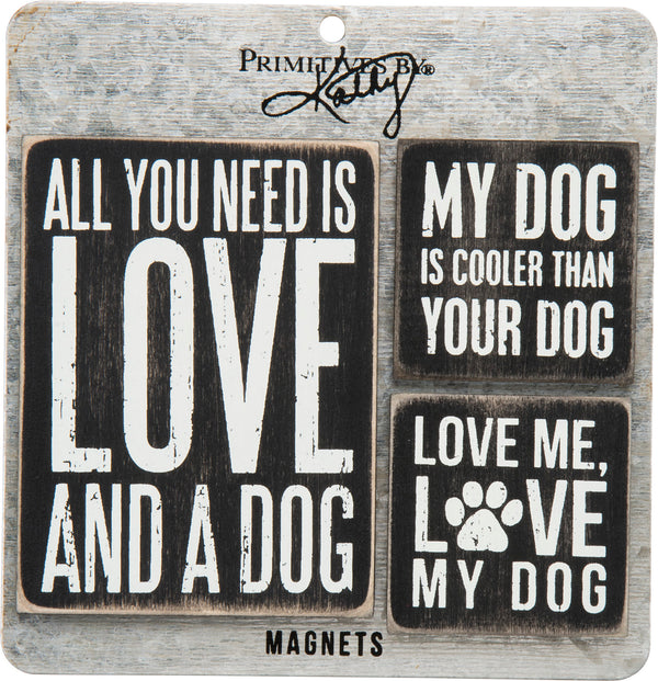 Primitives by Kathy Memo Holder Set - Dog