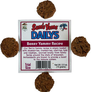 Sam's Yams Dailys Sweet Potato Dog Treats Trial Size