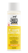 Skout's Honor Probiotic Shampoo + Conditioner Honeysuckle 16oz - Paw Naturals