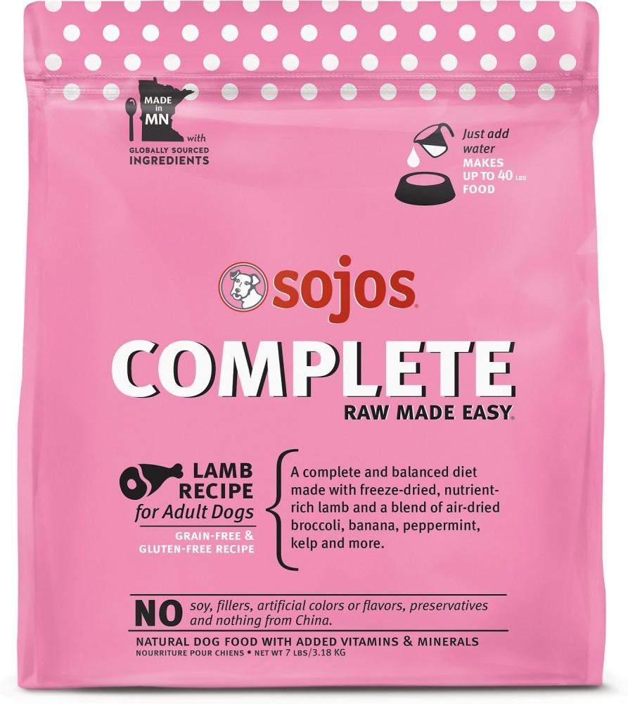 Sojos Complete Lamb Raw Freeze-Dried Dog Food