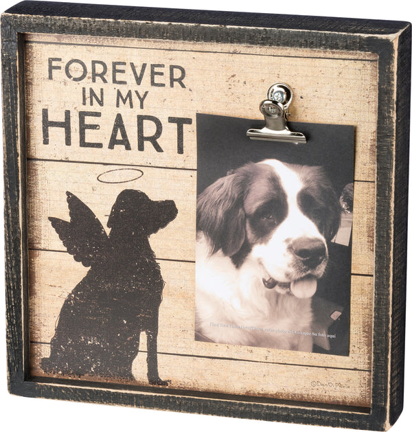 Primitives By Kathy Inset Box Frame - Forever In My Heart