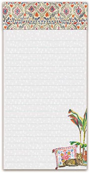 Punch Studio Tabby Uptown Pets Magnetic List Pad
