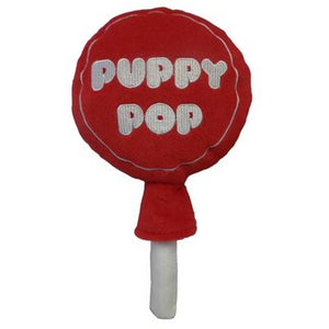 Lulubelles Power Plush Puppy Pop Dog Toy