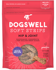 Dogswell Hip & Joint Soft Strip Duck Jerky 10oz Dog Treats