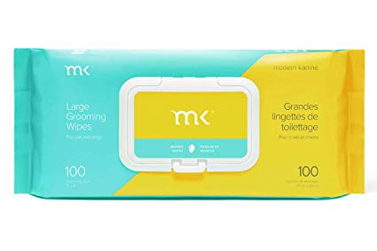 Modern Kanine Grooming Wipes Mango 100ct