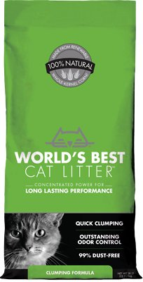 World's Best Cat Litter Clumping Forest Scent 7lb