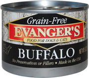 Evanger's Grain Free 100% Game Meats 6oz Canned Dog & Cat Food