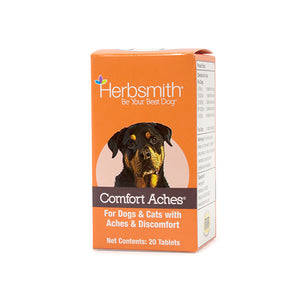 Herbsmith Comfort Aches 20ct Tablet - Paw Naturals