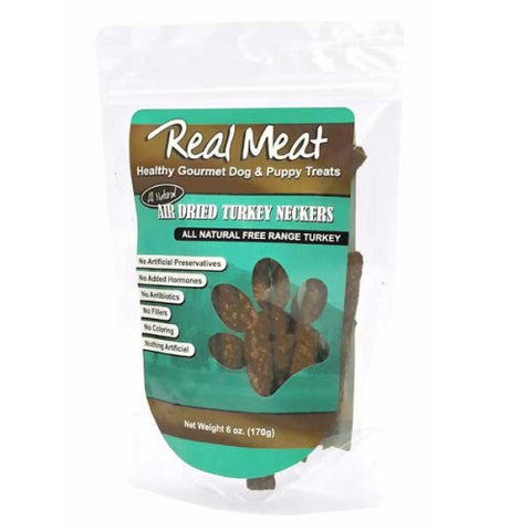 The Real Meat Company Turkey Neckers 6oz