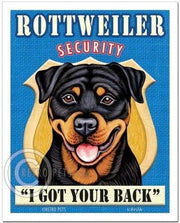Retropets Rottweiler Security