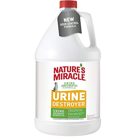 Nature's Miracle Just For Cats Urine Destr Pour 128z