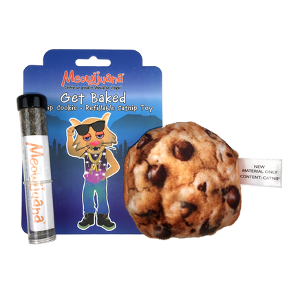 Meowijuana Get Baked Cookie Cat Toy - Paw Naturals