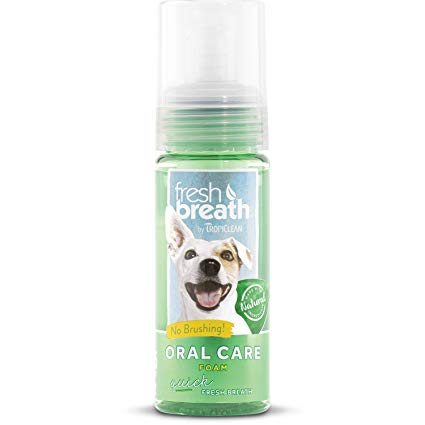Tropiclean Fresh Breath Foam Mint 4.5oz