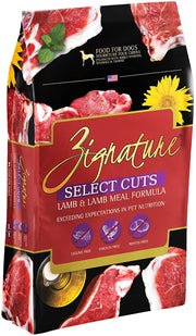 Zignature Select Cuts Lamb Dry Dog Food