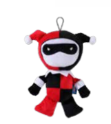"DC Comics Harley Quinn 9"" Plush Dog Toy by Fetch for Pets"