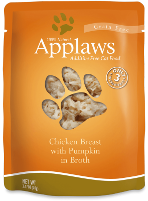 Applaws Pouch Chicken & Pumpkin 2.4oz Cat Food