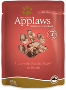 Applaws Pouch Tuna & Prawn 2.4oz Cat Food