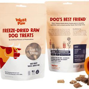 West Paw Design Raw Freeze-Dried Dog Treats 2.5oz
