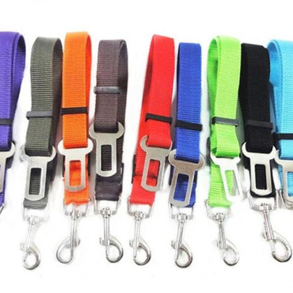 Sparky & Co Seatbelt Restraint Car Accessory (Assorted Colors) - Paw Naturals