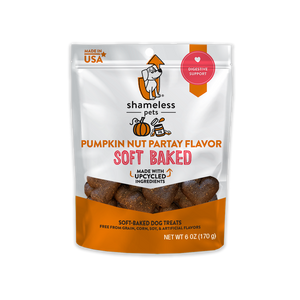 Shameless Pets Pumpkin Nut Partay Soft Baked Dog Treats
