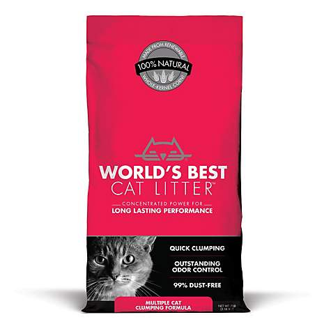 World's Best Cat Litter Extra Strength 7lb