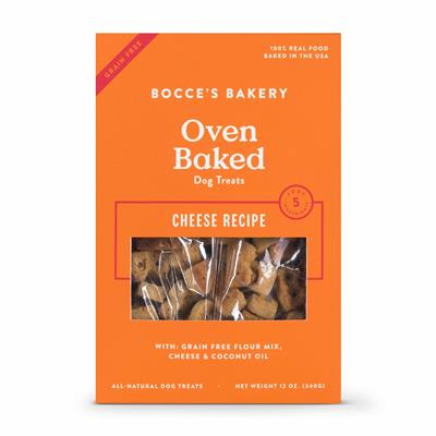 Bocce's Bakery Grain- Free Cheese Biscuits Dog Treat 12oz